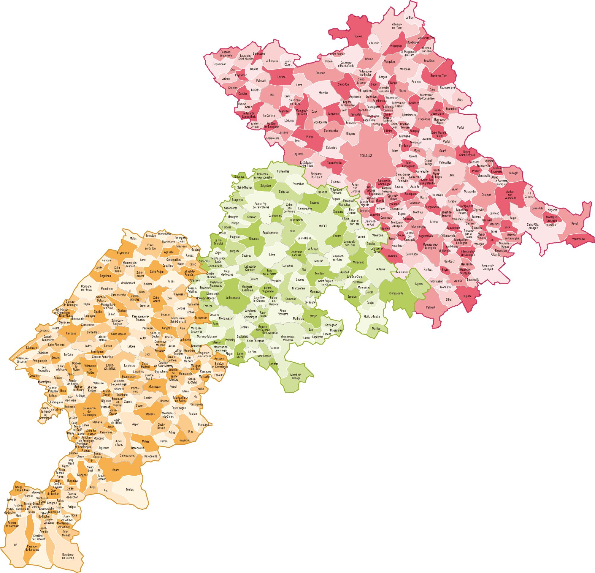 Liste Des Villes De Haute Garonne