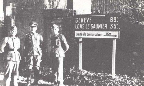 Lons le saunier en 1939 1945 for Code postal lons