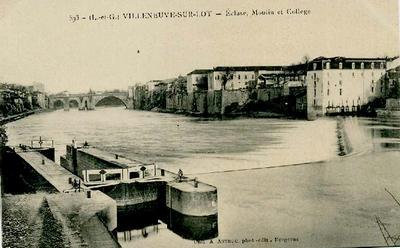 Villeneuve sur lot en 1939 1945 for Chambre de commerce villeneuve sur lot