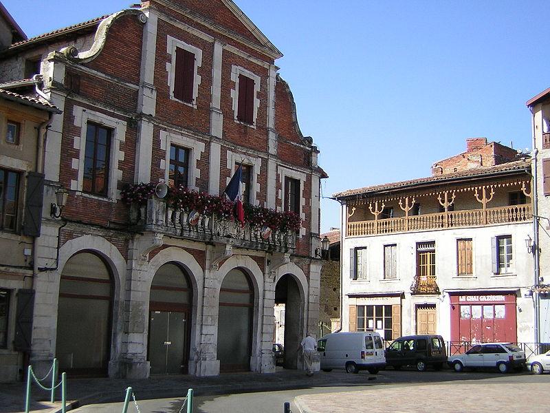 Mairie Cazeres: Cazères En 1939-1945