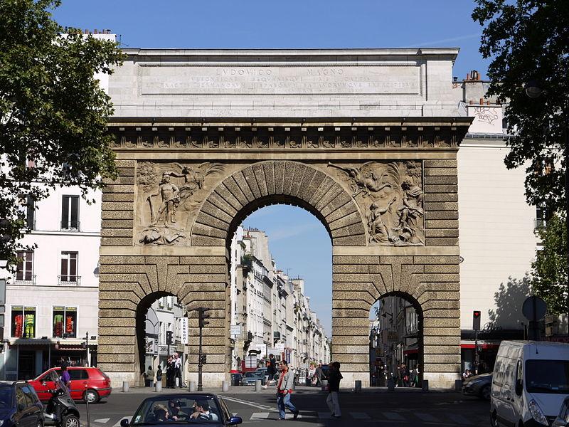 Paris 75010 en 1939 1945 for Porte st louis