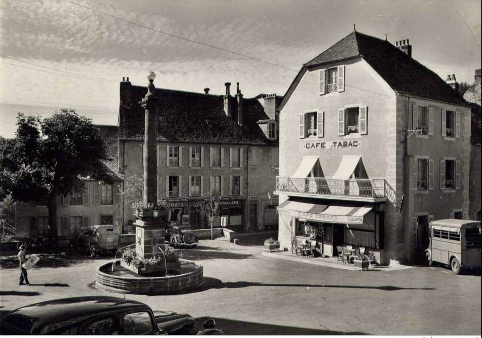 Pierrefort en 1939-1945