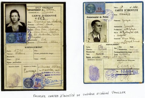 Carte Identite Allemande Ww2.Therese Panczer